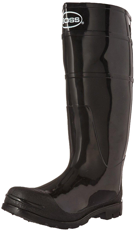 c512fd96c6974 Men's Shoes, Outdoor, Rain Footwear, Men's PVC Knee Boot by Boss in ...