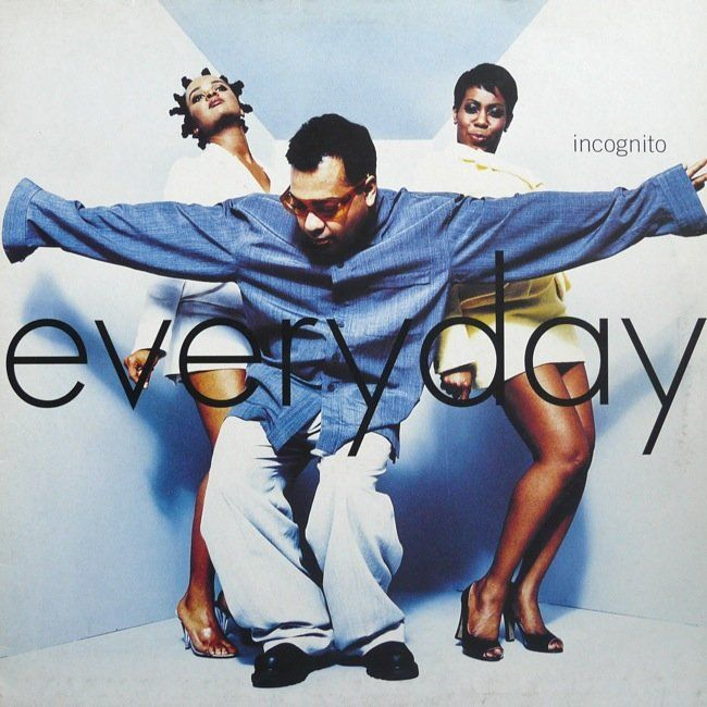 Everyday By Incognito 12inch With Lower Incognito Club Music Lp Records