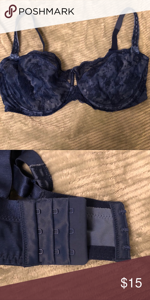 37b8f9fe31be Paramour by Target blue lace bra 42DDD Paramour by Target blue lace bra  42DDD. Very gently used target Intimates & Sleepwear Bras