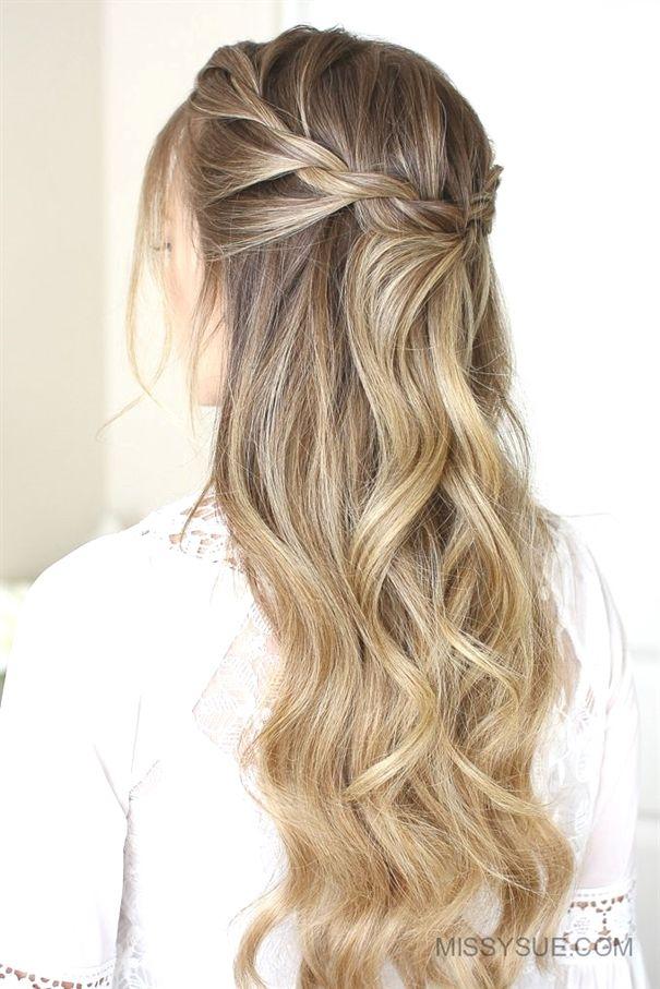 3 Easy Rope Braid Hairstyles Weddinghairstyles X Haare