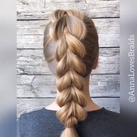Hairvideo Hairtutorial Hairvids Braidinspo Hairvideo Hairtutorial Hairvids Braidinspo In 2020 Long Hair Styles Hair Styles Hair Videos