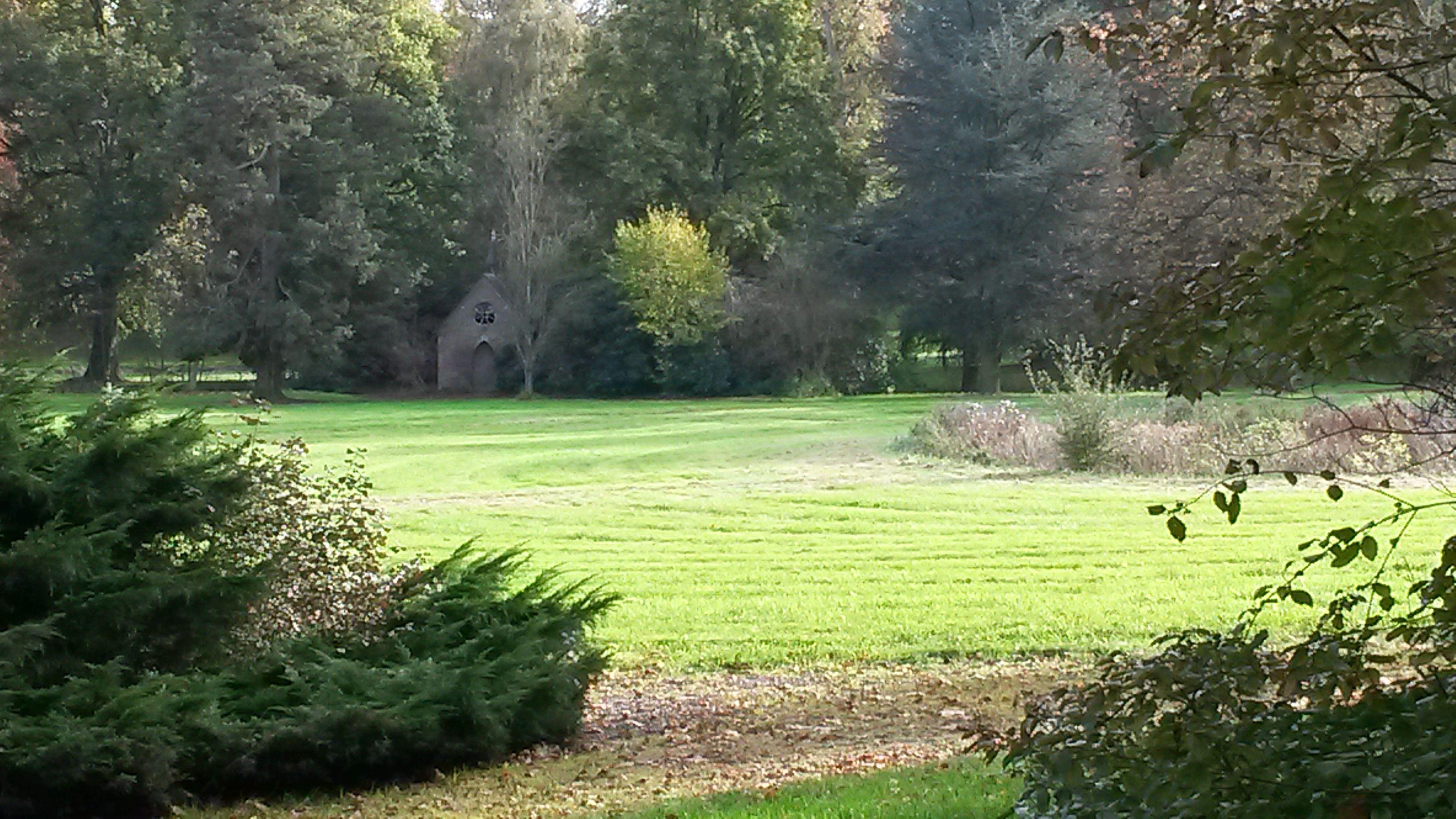 Het tuinhuisje van het chateau.