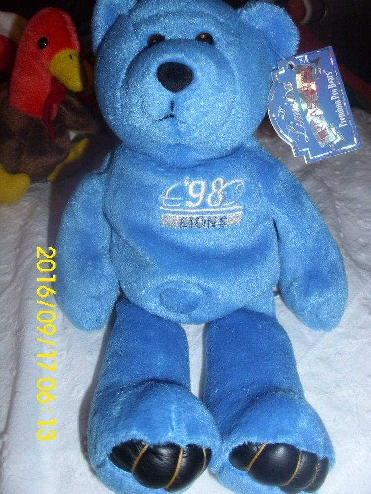 545a1472a33 NFL Limited Treasures 1998 QB Club  56917 Charlie Batch Detroit Lions Pro  Bear  NFLPROBEARS. Find this Pin and more on Aunt Flossie s Beanie Baby ...