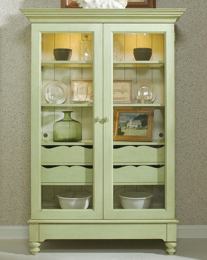 Merveilleux Summer Home Display Cabinet With 2 Glass Doors By Fine Furniture Design   Alison  Craig Home Furnishings   China Cabinet Naples, Fort Myers, Pelican Bay, ...