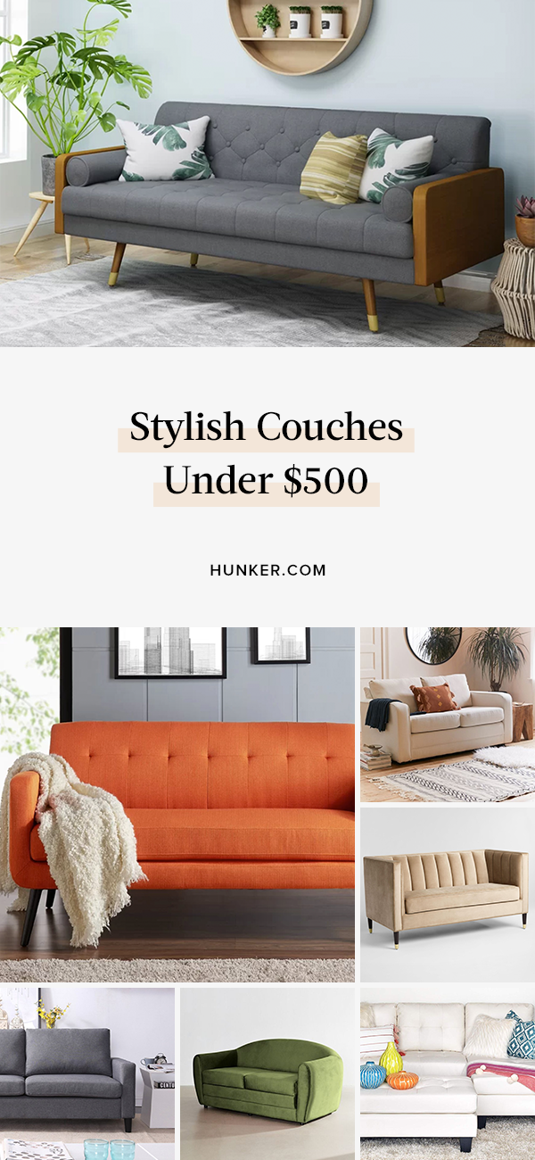 16 Couches Under 500 That Don T Skimp On Style Or Comfort Couch