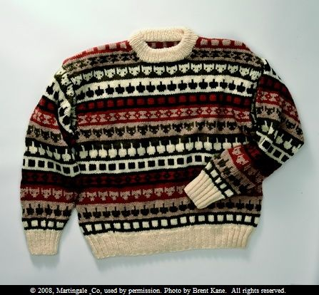 Men's Scandinavian Kitty fair isle sweater from the book, Kitty ...