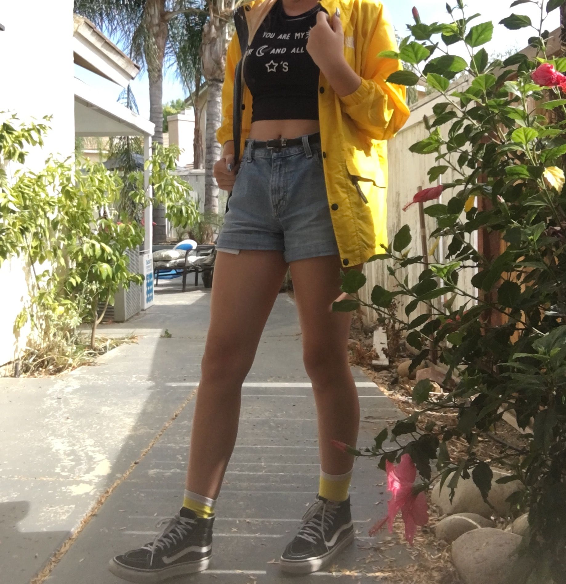 3c30d8cca1 cute thrift store outfit i put together  yellow  summer  tumblr ...
