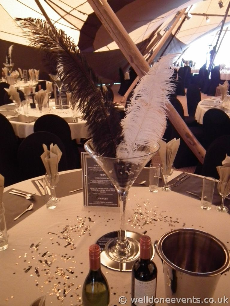 1920s wedding decoration ideas  great gatsby themed parties  us u Great Gatsby theme parties