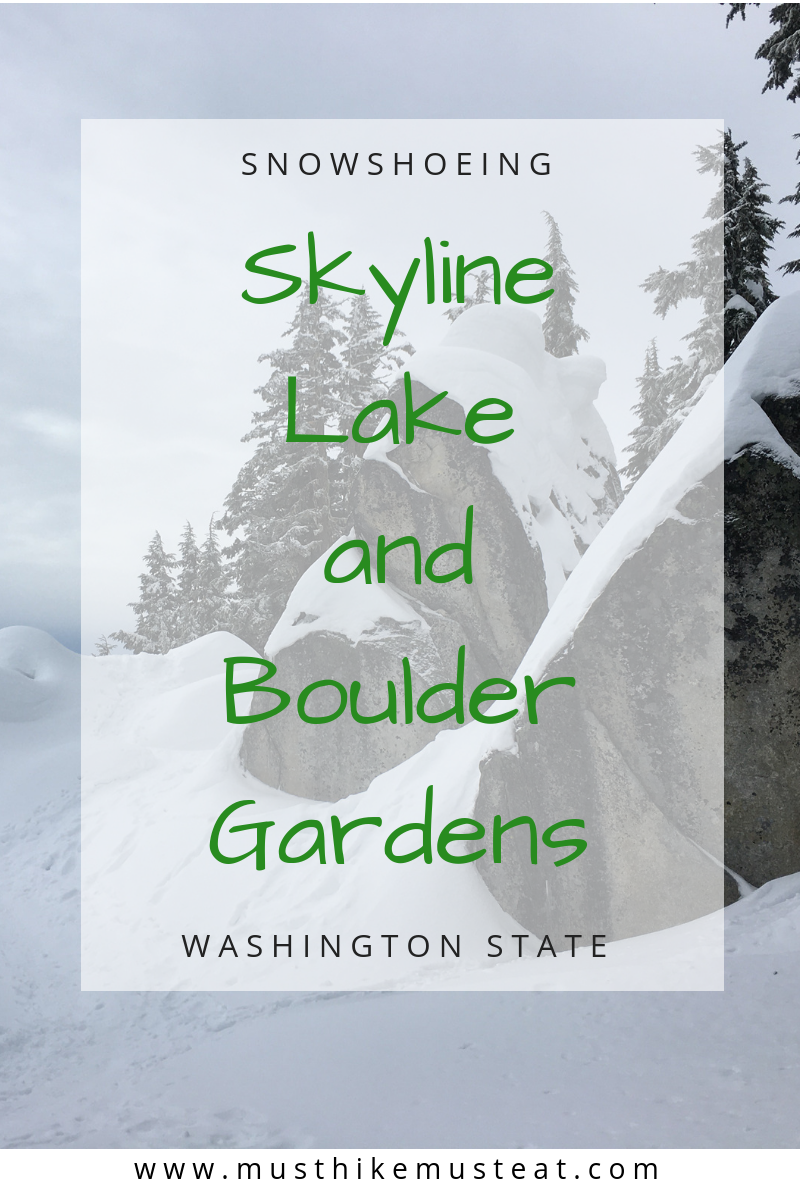 Skyline Lake Snowshoe and Boulder Gardens | Must Hike Must