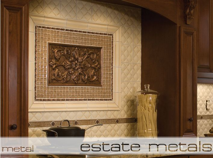 Luxury Tile | Handcrafted Metal Tile. Backsplash IdeasKitchen ...