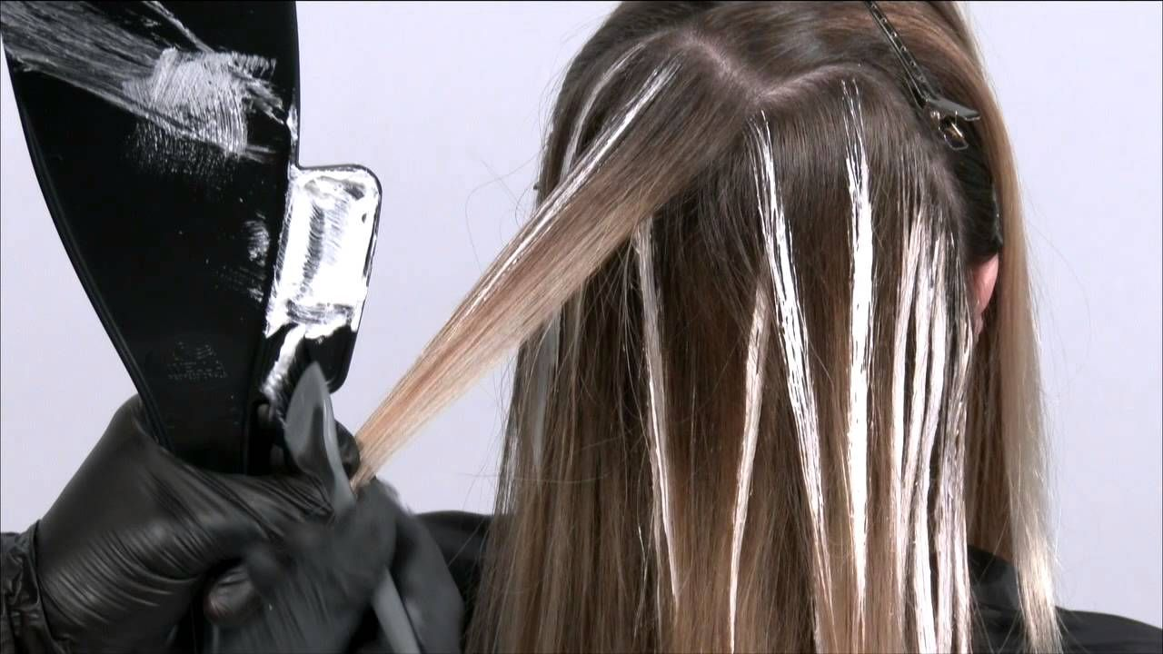 Wella Balayage Color Id Balayage Retouch Youtube Hair