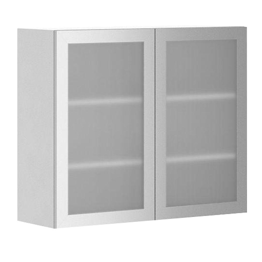 Eurostyle Ready To Assemble Wall Cabinet Kitchen Wall Cabinets Glass Door