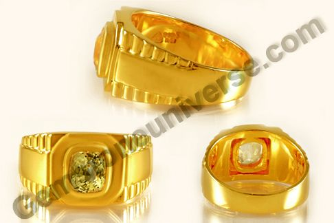 Natural Yellow sapphire is a prophetic jewel that is enormously