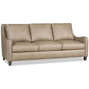 Shown In Mahogany Finish Made In America Price Will Vary Depending On Leather Or Fabric Selection Price May Bradington Young Leather Sofa Leather Sofa Sofa