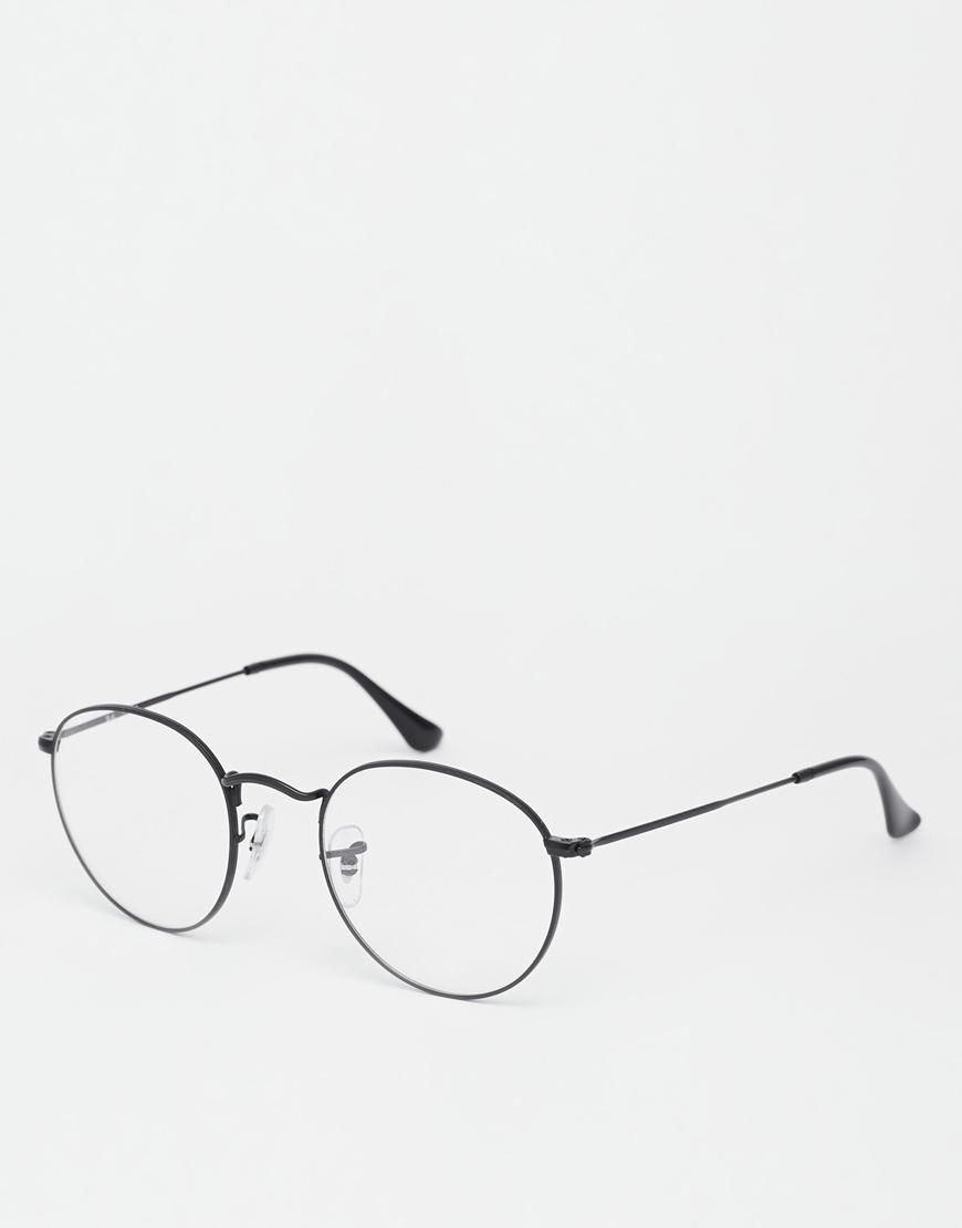 Ray-Ban   Ray-Ban – Runde Brille aus Metall bei ASOS   I Want It ...