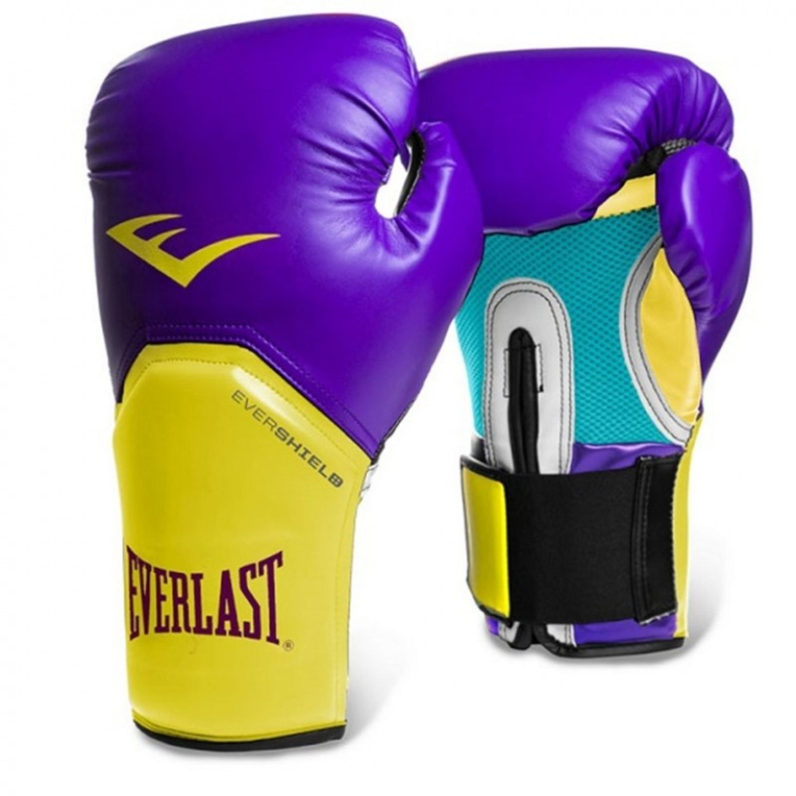 Everlast Elite Pro Style Leather Training Boxing Gloves Size 16 Ounces Red