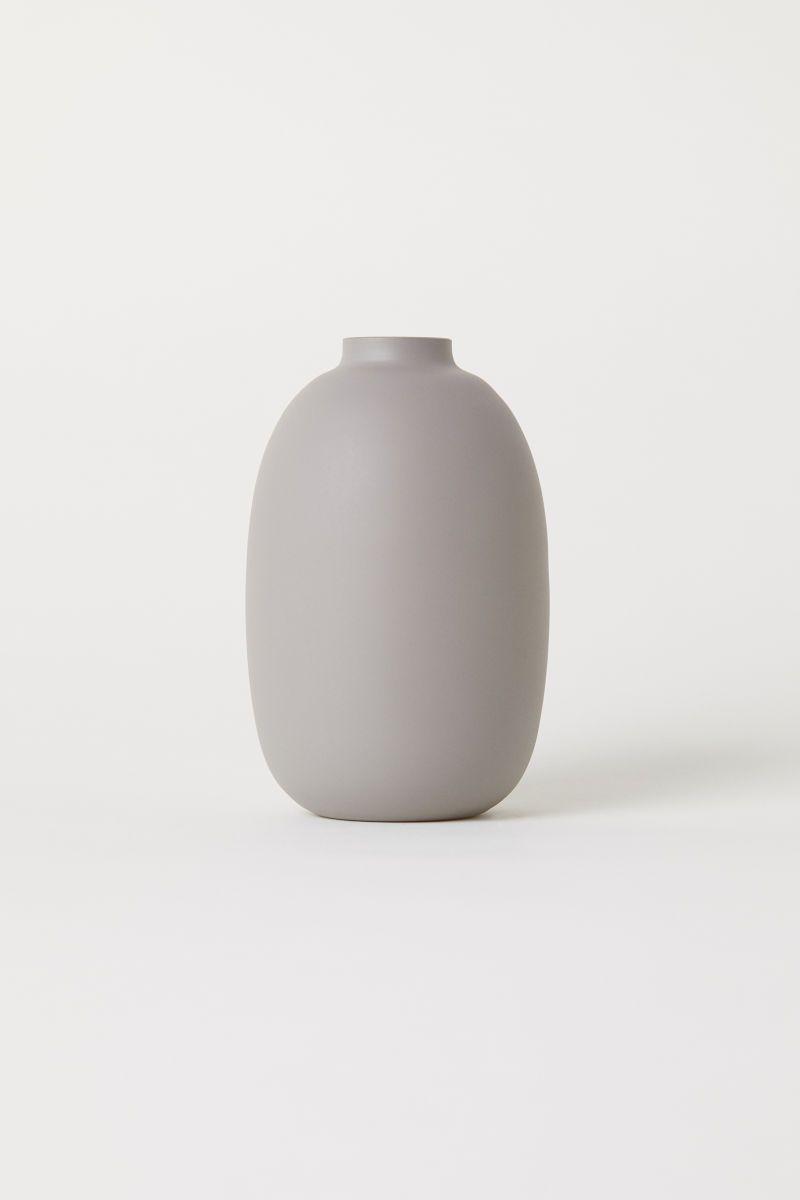 Verzauberkunst Vase Grau Foto Von Kleine Glasvase | | H&m Home |