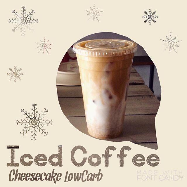 Ven por un Iced Coffee aquí en CheeseCake Low-Carb!  Pide tu Café Helado original o con sabor Vainilla, Crema Irlandesa o Avellana Todos con versión sin lácteos, sin azúcar y con bajo índice glucémico 😉