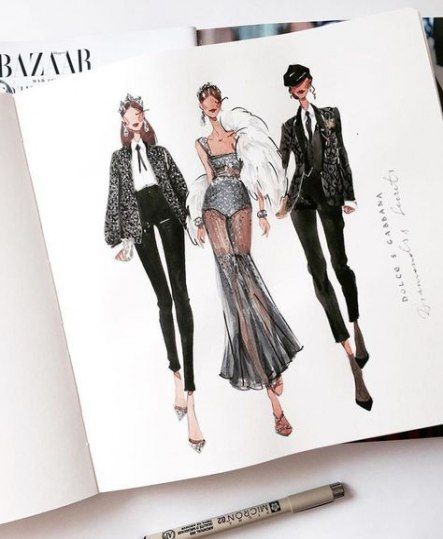 Photo of Fashion Drawing Ideas Inspirational 29 Ideas