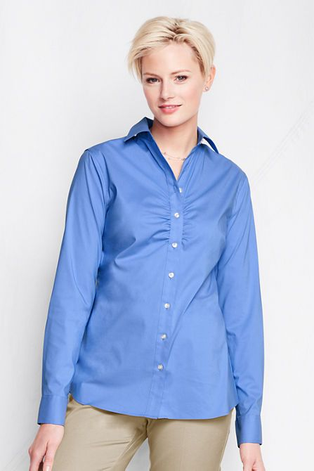 Style Arc Brenda blouse, with long sleeves and without darts