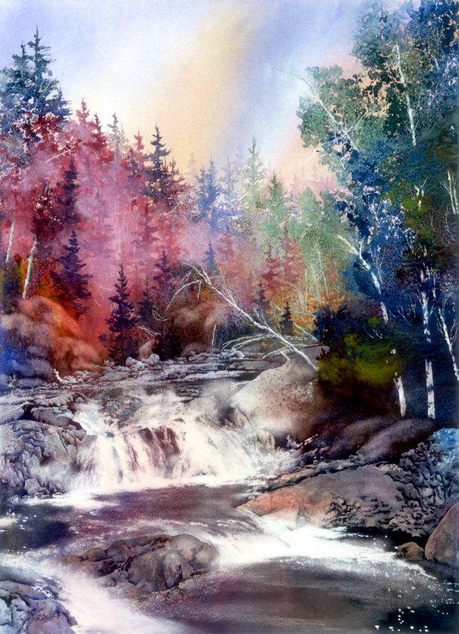 Gary Spetz Watercolors Aquarellmalerei Wasserfarben Kunst Und