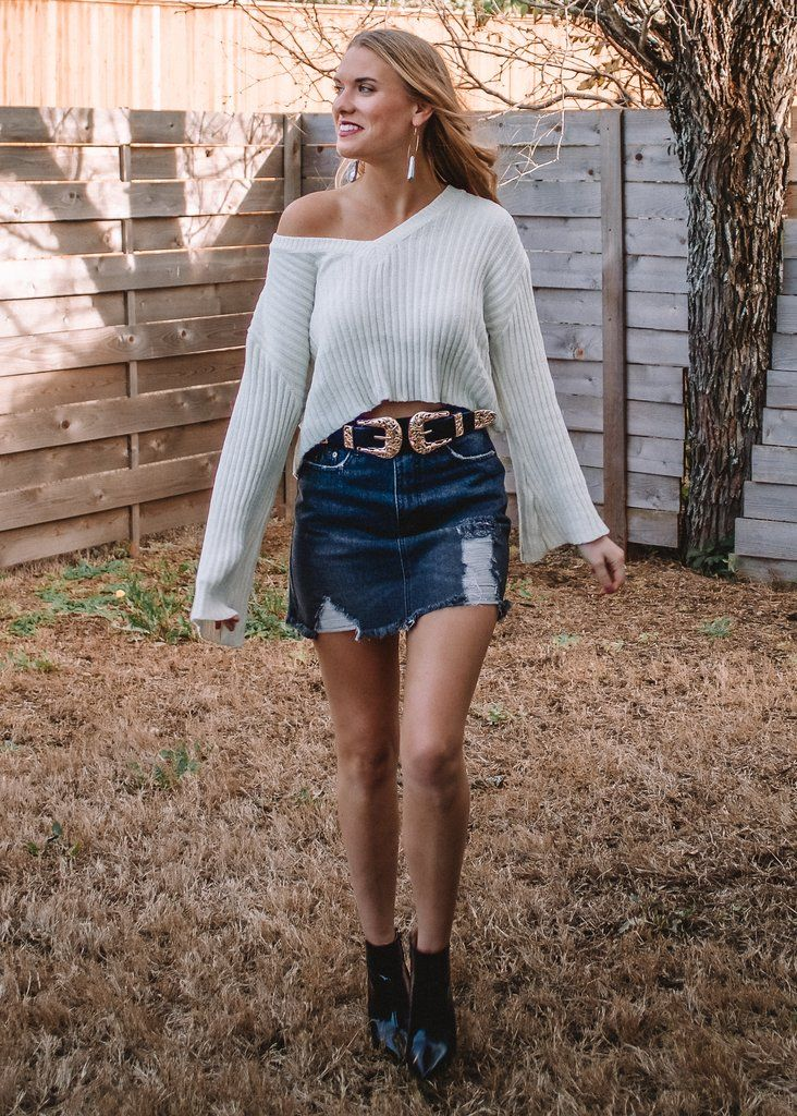 Sweetener Cropped Sweater