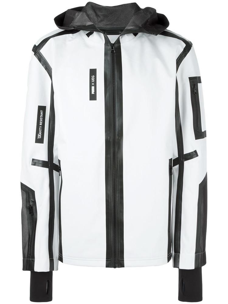 41466d7f37f9 Puma X UEG Tech Jacket Gravity Resistant White Black New NWT Men s Size L   450 (eBay Link)