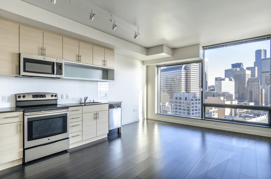 best seattle apartments kitchen seattle apartment apartment view a seattle homes. Black Bedroom Furniture Sets. Home Design Ideas