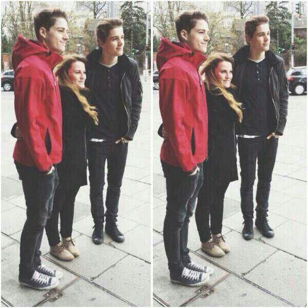 Finn and Jack with a viewer in Berlin, Germany. | Jack ...