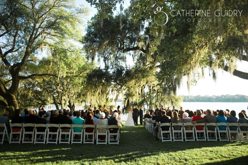 Outdoor Wedding Photos Rip Van Winkle Louisiana Wedding Venues