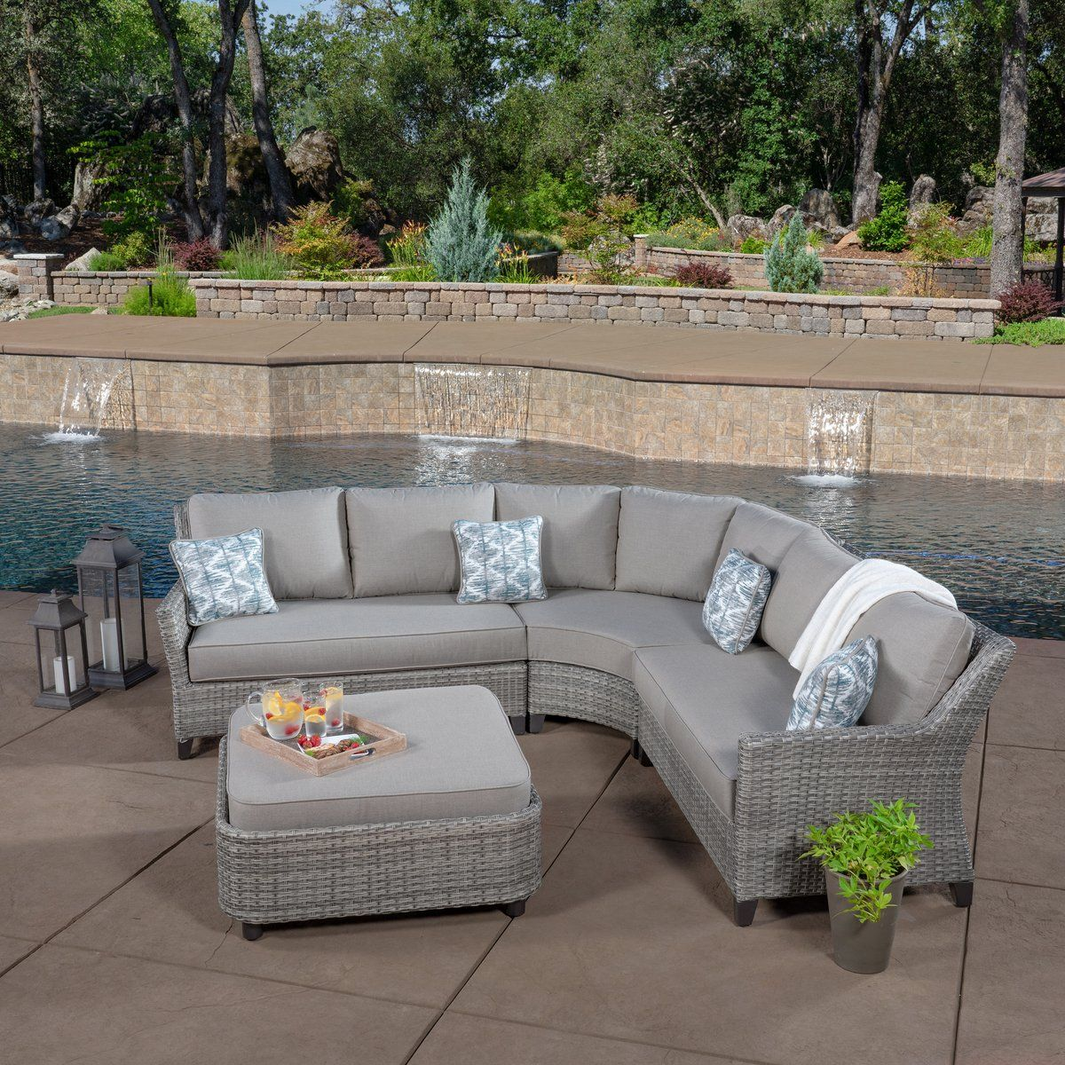 Costa Sectional Replacement Parts Patio Seating