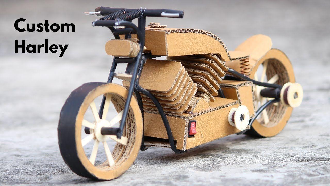 How To Make Custom Bike Custom Harley Davidson Custom Harleys