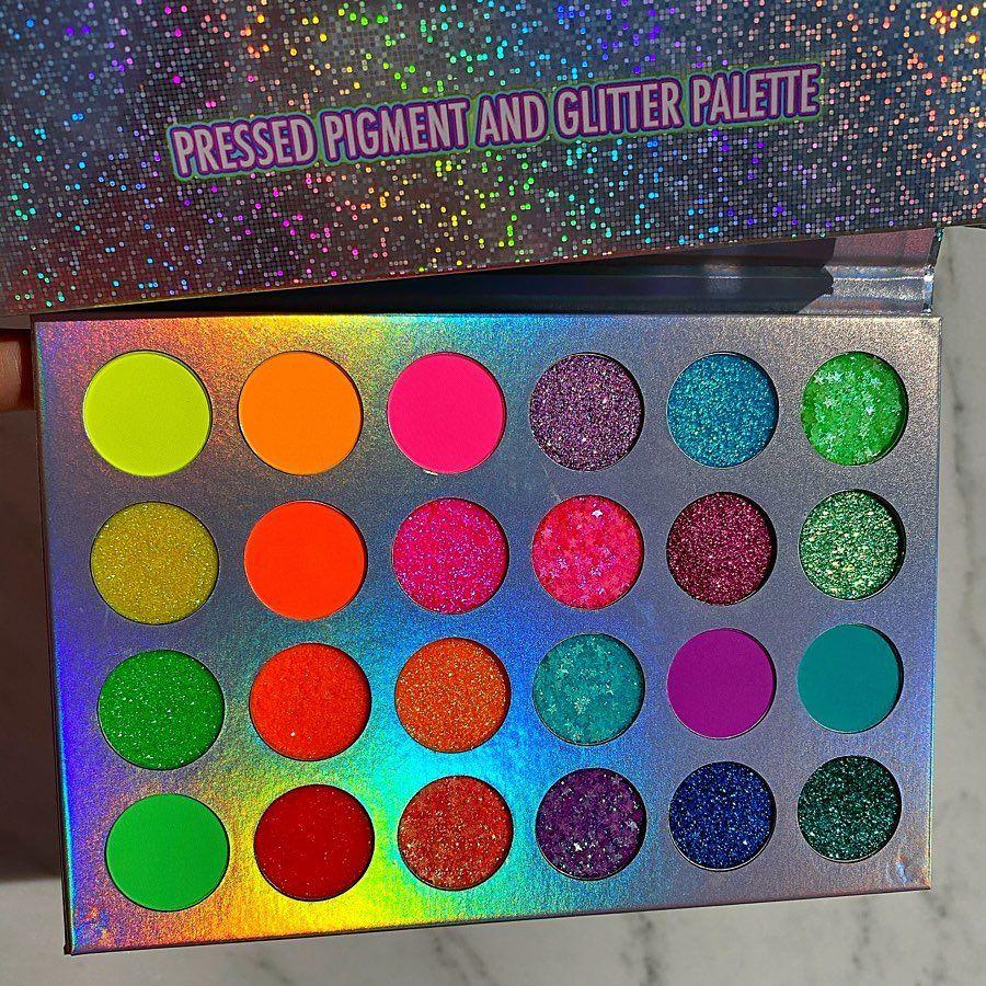 "Brushes Cosmetics on Instagram ""Neon Glow"