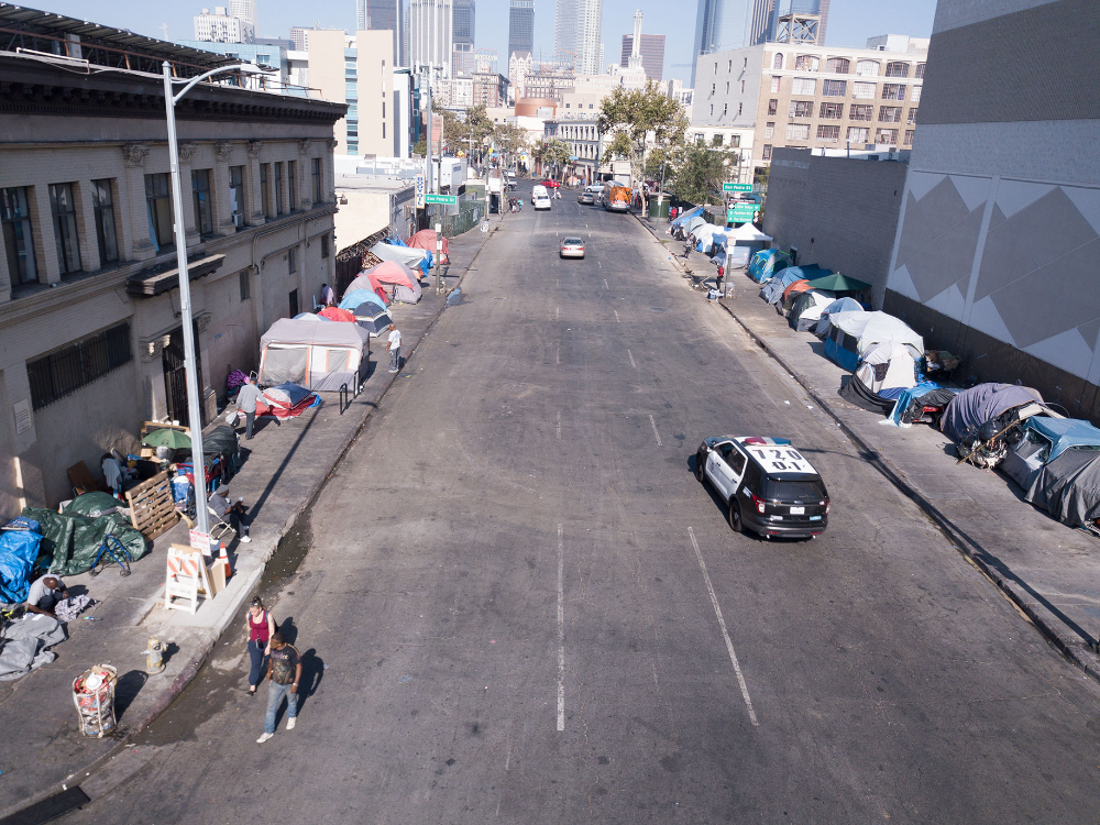 L A S Skid Row Life Goes On Features Laurie J Flynn Alta Online In 2021 Skid Row Skid Row Los Angeles California City