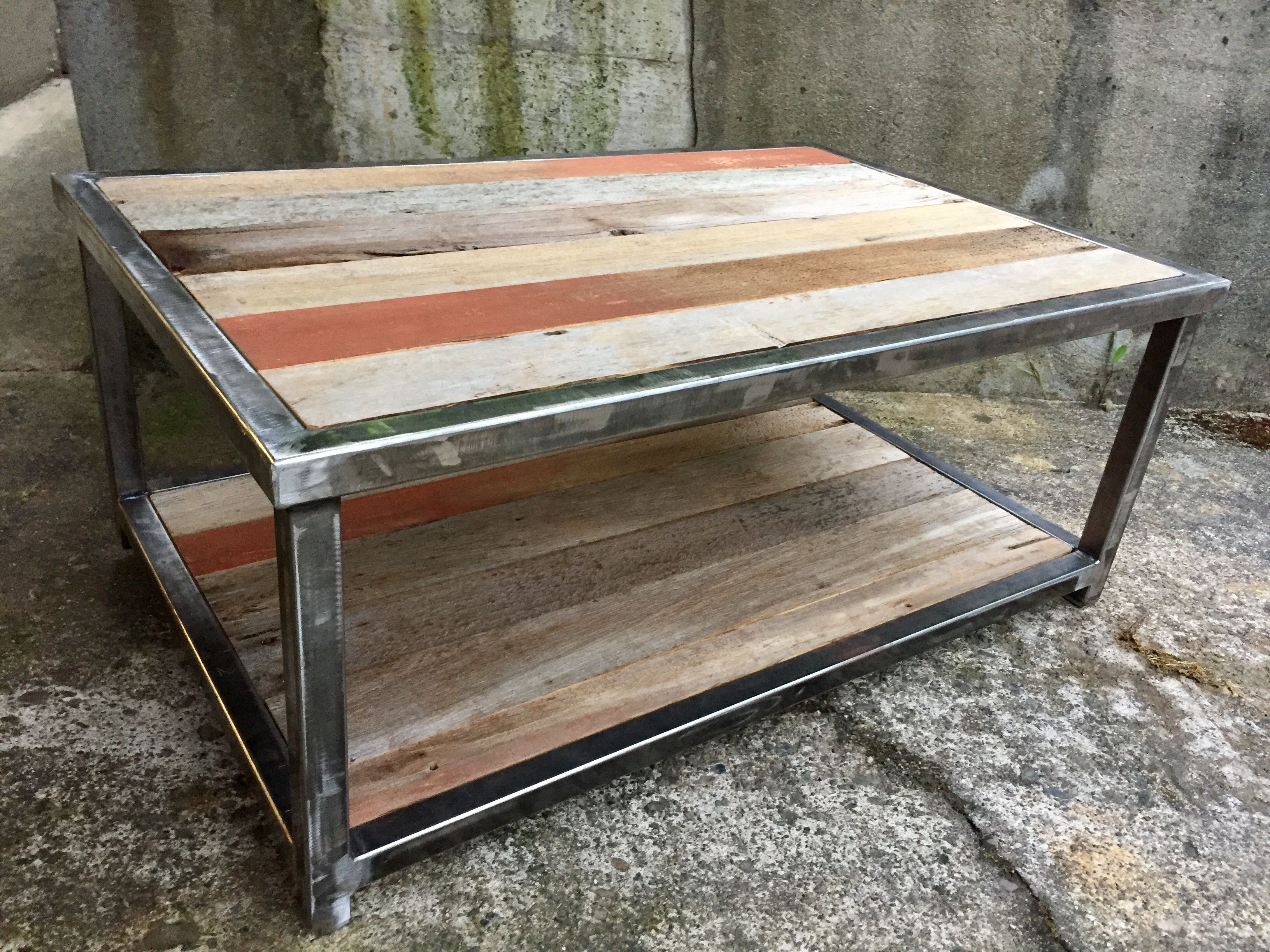 Reclaimed barn wood coffee table | Coffee tables | Pinterest