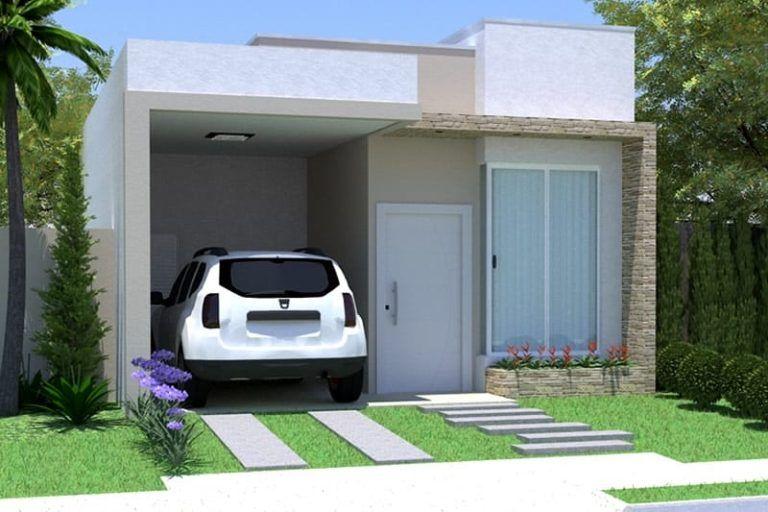 Como Decorar Fachadas De Una Casa Pequena Disenos E Ideas Planos De Casas Fachadas De Casas Modernas Fachada De Casa