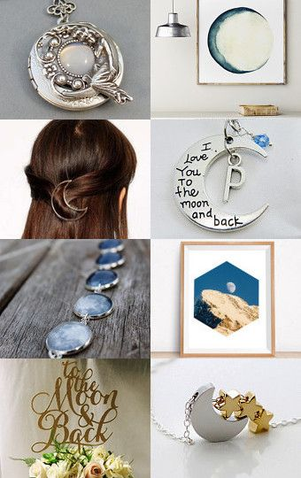 To the moon... by Liora Mendaley on Etsy--Pinned with TreasuryPin.com