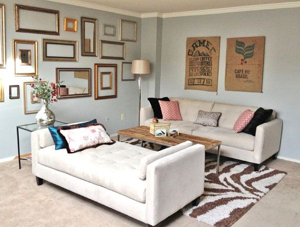 How to Decorate a Small Living Room | Chaise lounges, Spaces and Room