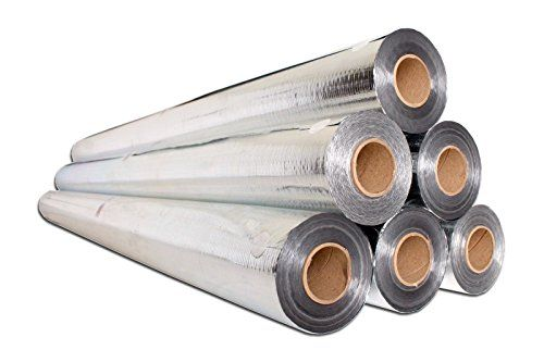 1000sqft 51 Inch Rafter Friendly Of Nasa Tech Commercial Grade Perforated No Tear Reflective Insulation Radiant Barrier Reflective Insulation Radiant Barrier