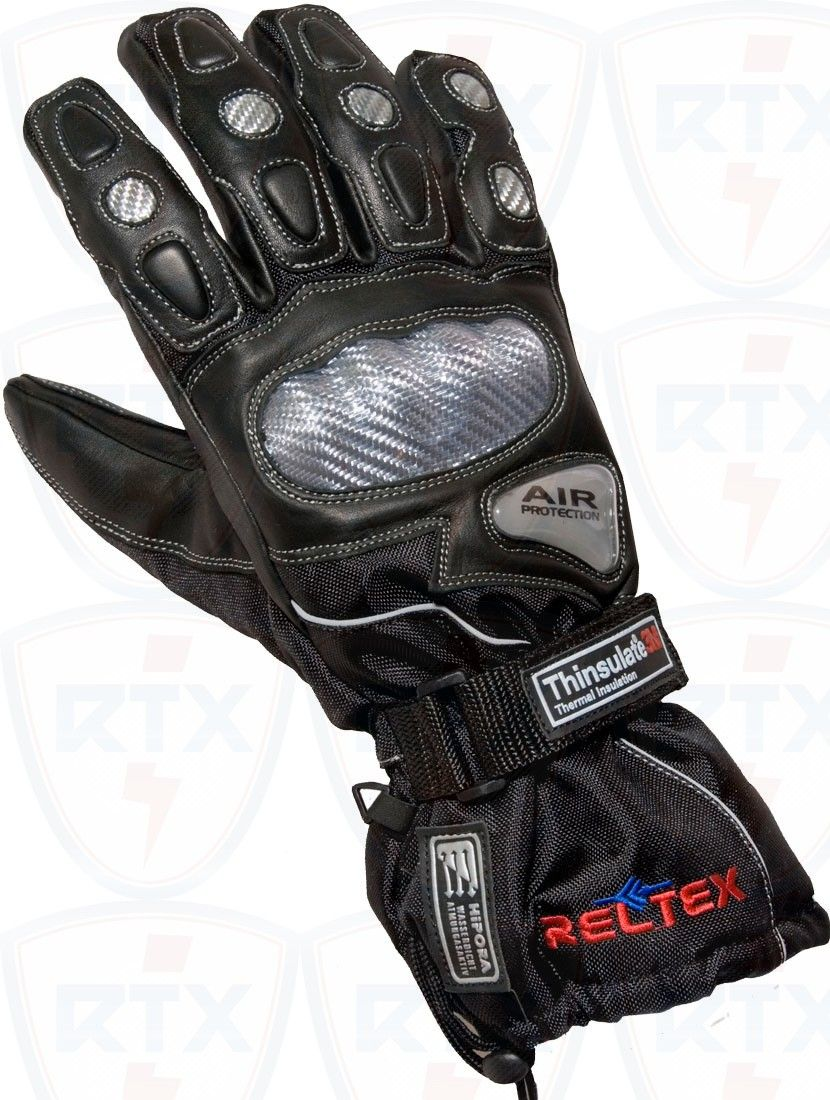 Motorcycle gloves thinsulate -  Motorcycle Motorbike Leathers Reltex Leathers Motorcycle Sports Gloves Are Designed For Safety With