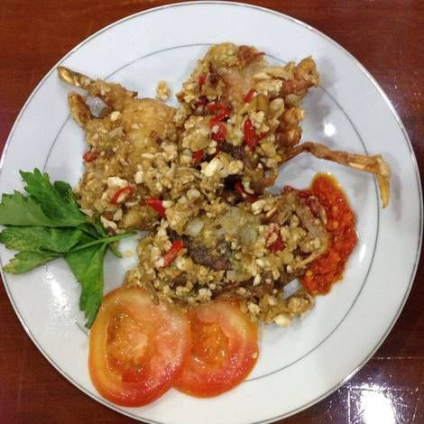 Resep Kepiting Soka Telur Asin Oleh Umina Adila Resep Resep Kepiting Kepiting Resep Makanan
