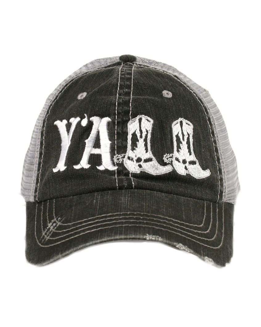 Women S Y All Trucker Hat White Country Hats Country Girls Outfits Cowgirl Outfits