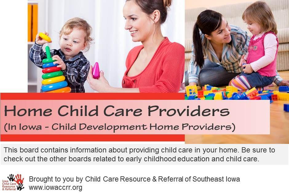 Providing Child Care in Your Home. childcare CCRRSEI