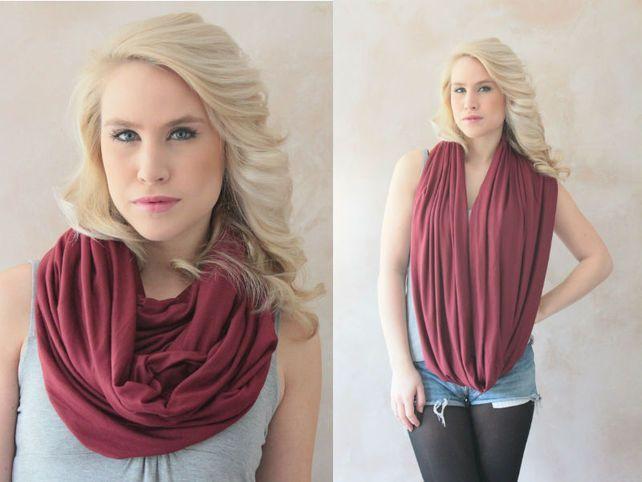 Idées de looks mode, comment porter une écharpe snood , des astuces pour  bien mettre et porter son écharpe snood en laine en hiver pour homme et  femme. 08473b7a341