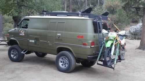 1985 Gmc Vandura Chevy Van Heavy Duty 6 Inch Body Lift Head Turner Chevy Van Small Camper Vans Chevy