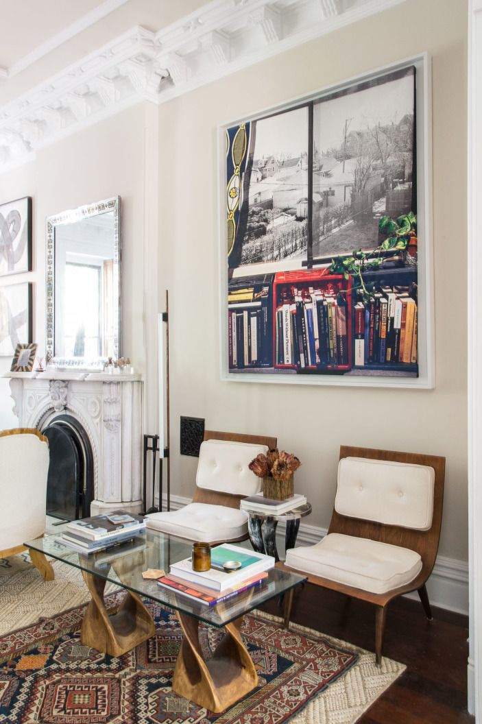 This Vignette Is A Perfect Example Of Clever Repurposing. Chairs Are  Midcentury Finds On Craigslist