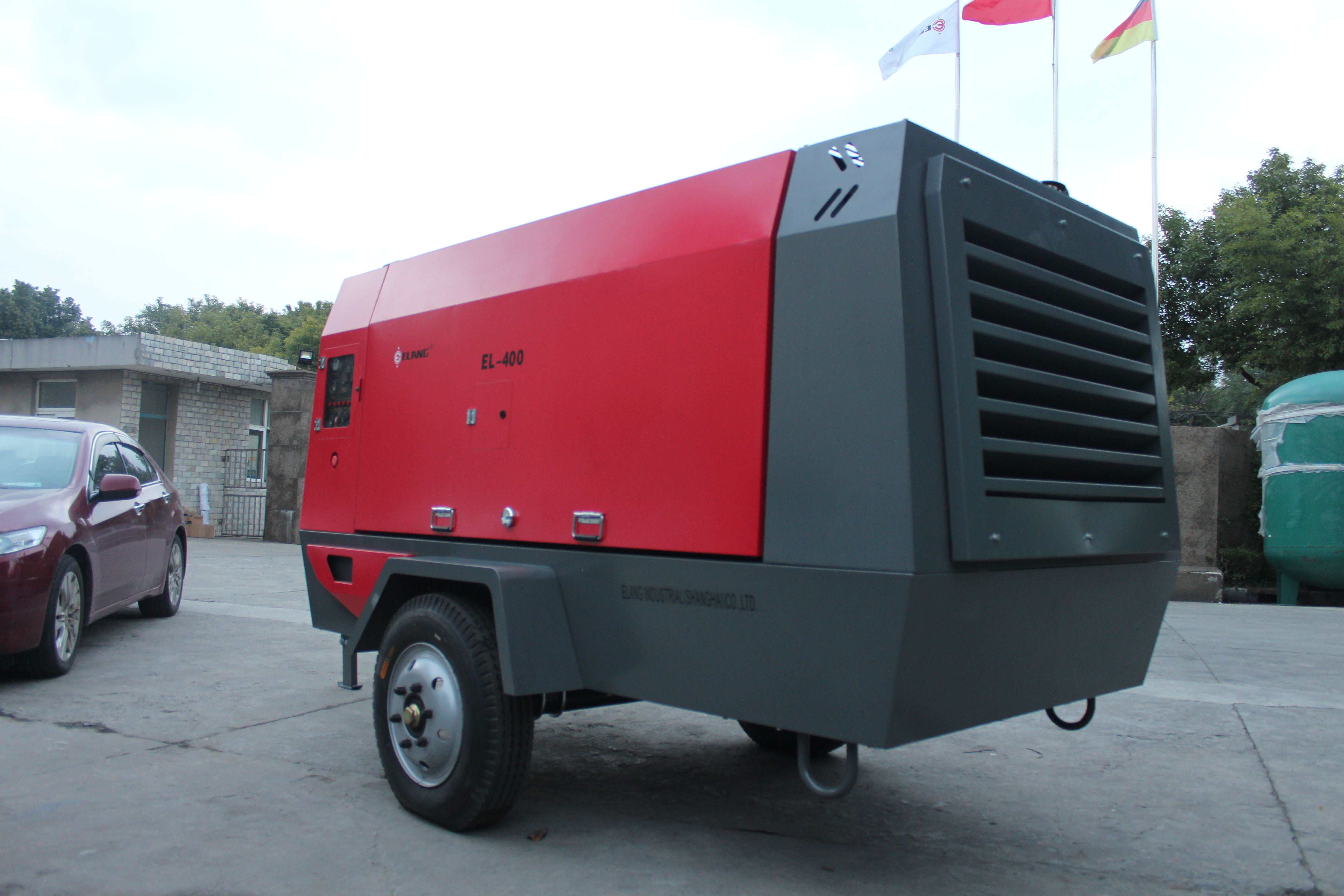 EL400 portable screw air compressor producer Comoros