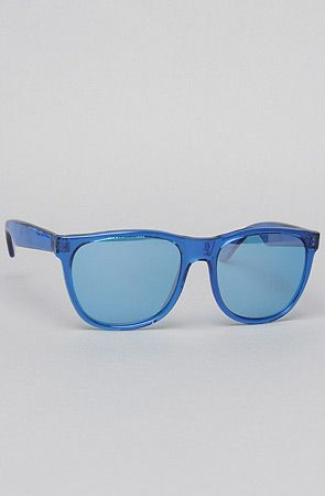 The Lucite Wayfarer Sunglasses in Blue by Replay Vintage Sunglasses #MissKL and #SpringtimeinParis