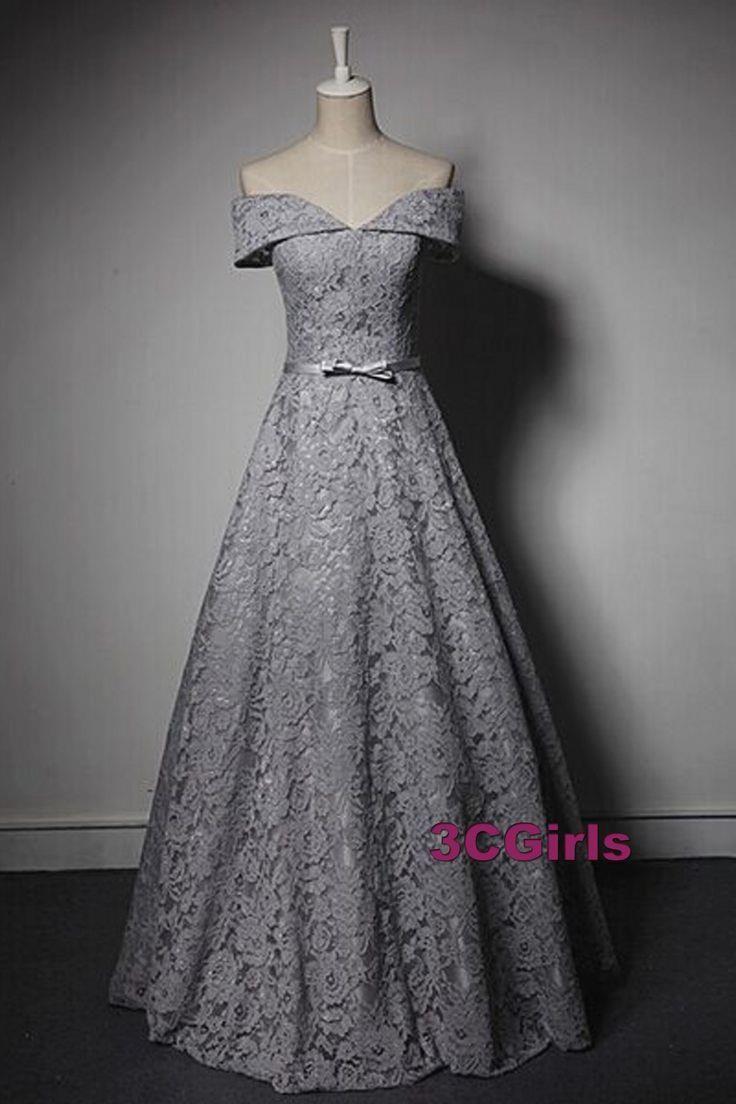 Vintage lace prom dress evening pinterest lace prom dresses