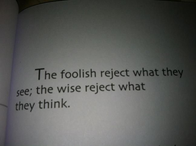 THE fOOLISH AND THE WISE